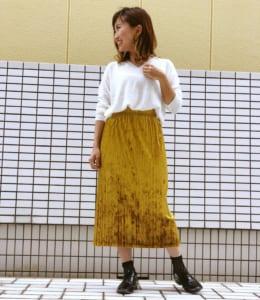 CHIKAKOの秋のコーディネート