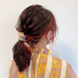 今日の私のヘアスタイル