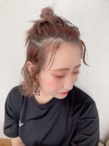 【今日の私のヘアスタイル】